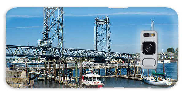 Memorial Bridge Portsmouth Galaxy Case by Kevin Fortier