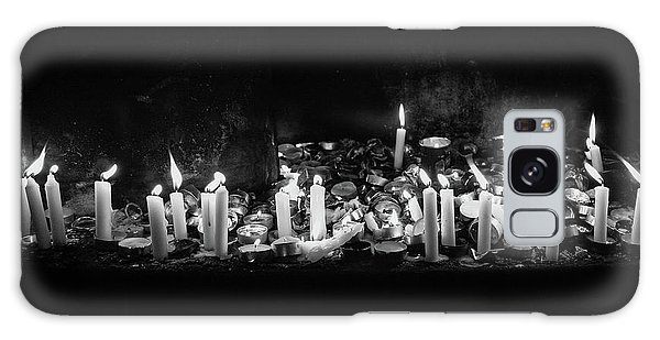 Memorial Candles II Galaxy Case