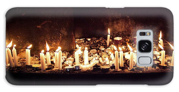 Memorial Candles Galaxy Case