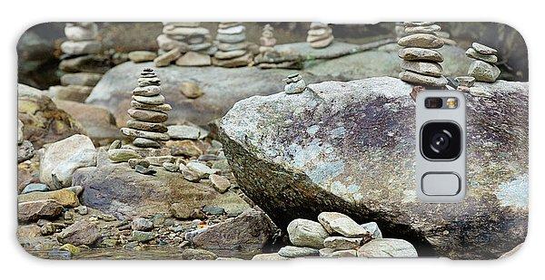 Memorial Stacked Stones Galaxy Case
