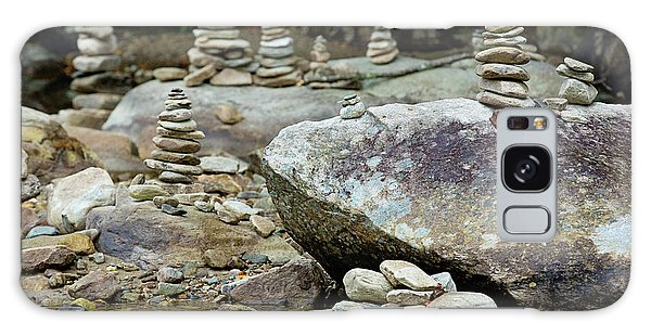 Memorial Stacked Stones Galaxy Case