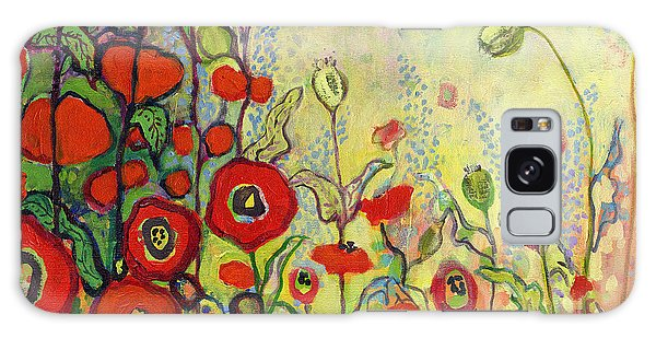 Impressionist Galaxy Case - Memories Of Grandmother's Garden by Jennifer Lommers