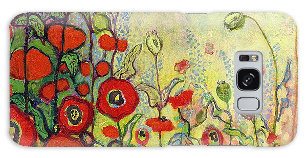Impressionism Galaxy S8 Case - Memories Of Grandmother's Garden by Jennifer Lommers