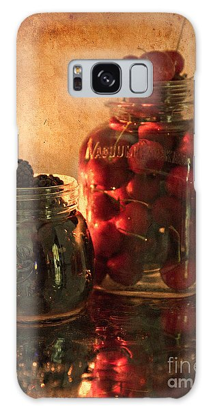 Memories Of Jams, Preserves And Jellies  Galaxy Case by Sherry Hallemeier