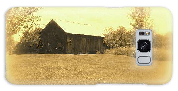 Memories Of Long Ago - Barn Galaxy Case by Susan Lafleur