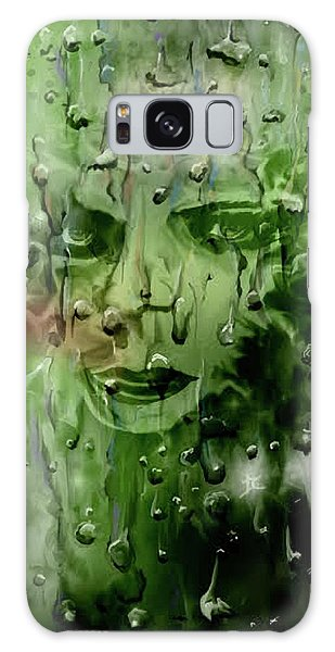 Galaxy Case featuring the digital art Memory In The Rain by Darren Cannell
