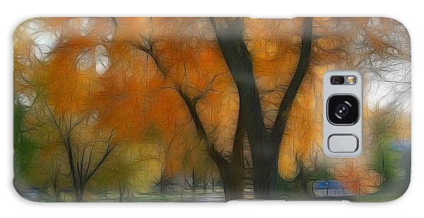 Memory Of An Autumn Day Galaxy Case by Lyle Hatch