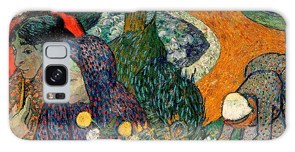 Galaxy Case featuring the painting Memory Of The Garden At Etten by Van Gogh