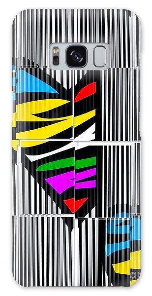 Memory Popart Heart By Nico Bielow  Galaxy Case by Nico Bielow