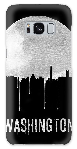Washington D.c Galaxy Case - Memphis Skyline Black by Naxart Studio