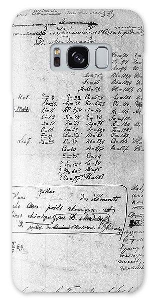 Mendeleyev's Periodic Table, 1869 Galaxy Case