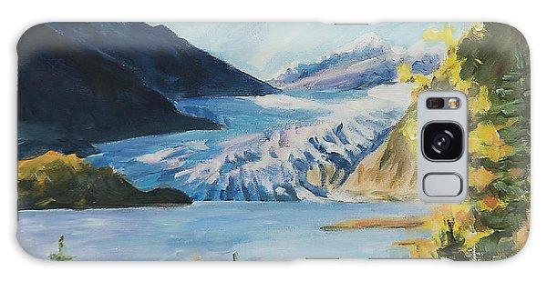 Mendenhall Glacier Juneau Alaska Galaxy Case