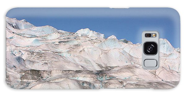 Mendenhall Glacier Panoramic Galaxy Case by Kristin Elmquist