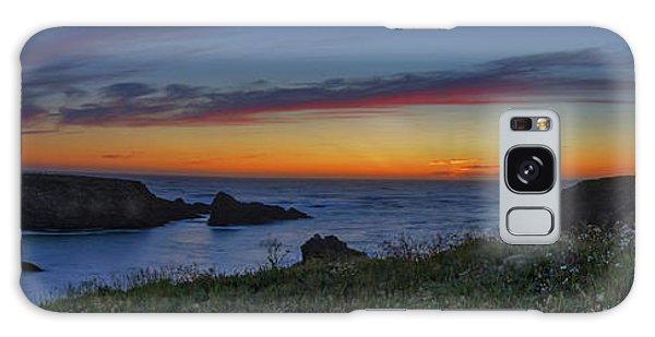 Mendocino Headlands Sunset Galaxy Case
