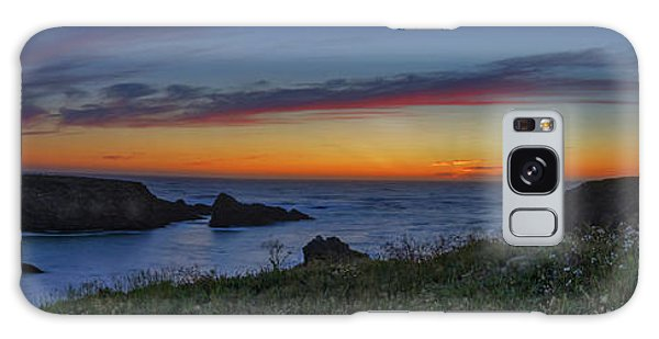 Mendocino Headlands Sunset Galaxy Case