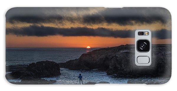 Mendocino Sunset Galaxy Case