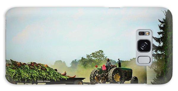 Menonnite Tobacco Farmer And Wife Galaxy Case