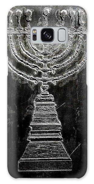 Menorah Galaxy Case by Aaron Berg