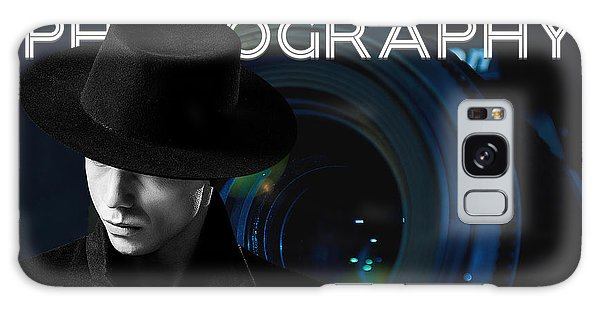 Galaxy Case featuring the digital art Mens Fashion Photography Are You Photogenic by ISAW Company