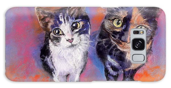 Meow Mix Galaxy Case