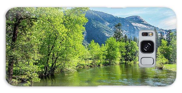 Merced River In Yosemite Valley Galaxy Case