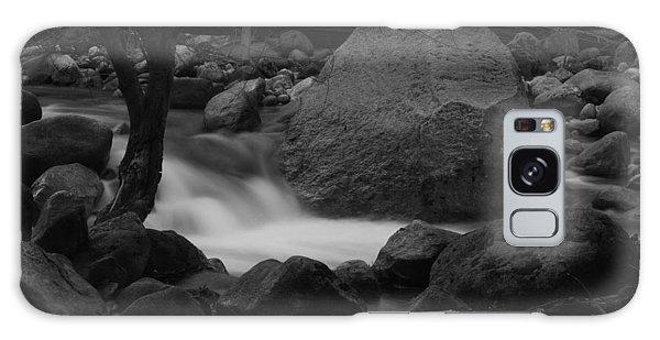Merced River Rocks Galaxy Case
