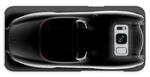 Mercedes 300 Sl Roadster - Top View Galaxy Case