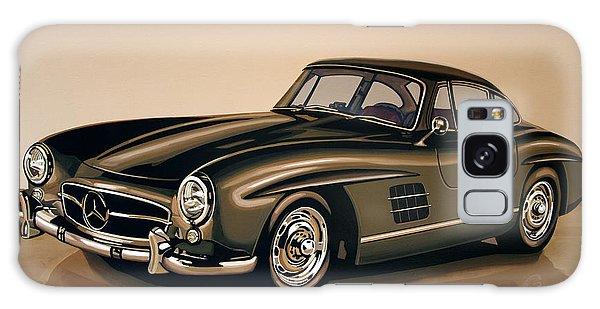 Motor Galaxy Case - Mercedes Benz 300 Sl 1954 Painting by Paul Meijering
