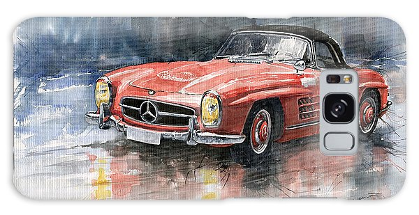 Red Galaxy Case - Mercedes Benz 300sl by Yuriy Shevchuk