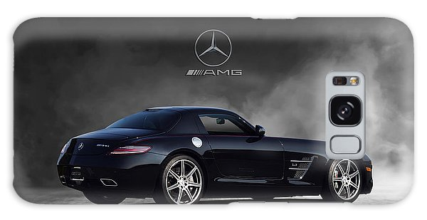 Front Galaxy Case - Mercedes Benz Sls Amg by Peter Chilelli