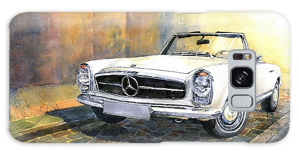 Car Galaxy S8 Case - Mercedes Benz W113 280 Sl Pagoda Front by Yuriy Shevchuk