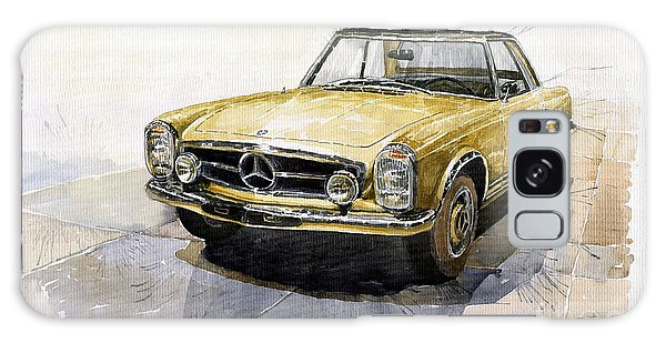 Car Galaxy S8 Case - Mercedes Benz W113 Pagoda by Yuriy Shevchuk