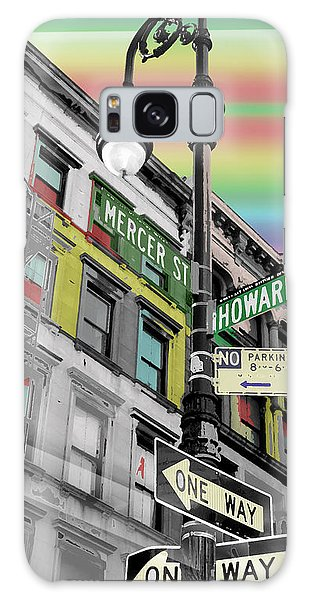 Mercer St Galaxy Case by Christopher Woods