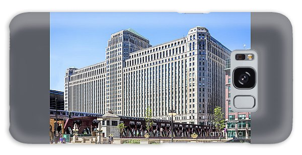 Merchandise Mart Overlooking The L Galaxy Case
