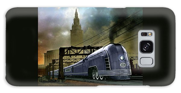 Mercury Train Galaxy Case by Steven Agius