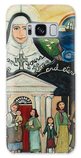 Mercy Foundress Catherine Mcauley Galaxy Case