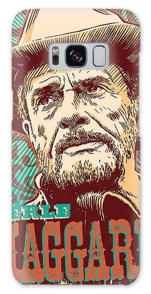 Merle Haggard Pop Art Galaxy Case
