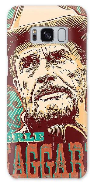 Western Galaxy Case - Merle Haggard Pop Art by Jim Zahniser