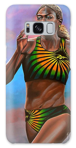 Sportsman Galaxy Case - Merlene Ottey by Paul Meijering