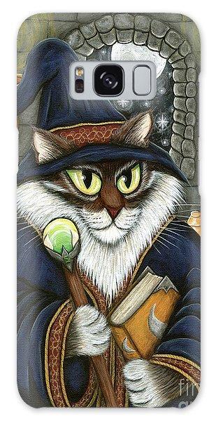 Merlin The Magician Cat Galaxy Case