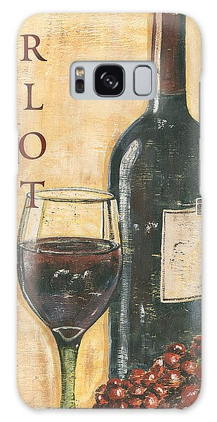 Merlot Wine And Grapes Galaxy Case