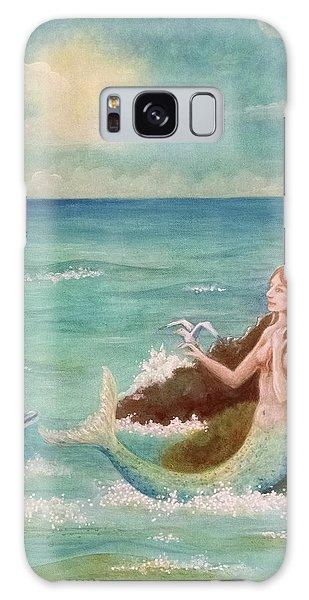 Mermaid Dreams Galaxy Case