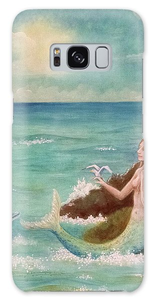 Mermaid Dreams Galaxy Case