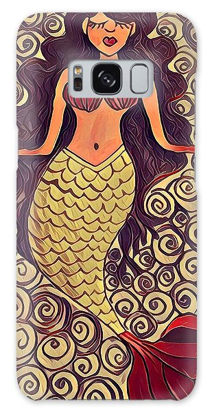 Galaxy Case - Mermaid Dreams by K Daniel