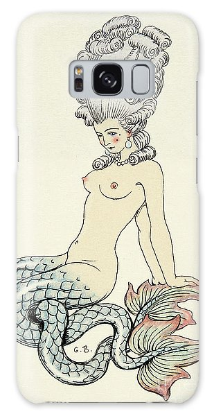 Mythological Galaxy Case - Mermaid, From Les Liaisons Dangereuses  by Georges Barbier