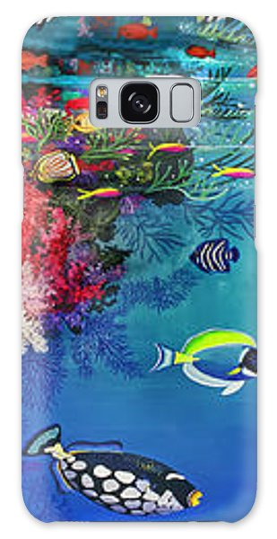 Mermaid In Paradise Complete Underwater Descent Galaxy Case by Bonnie Siracusa