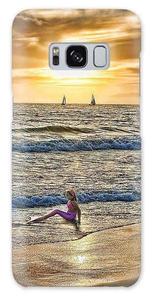 Mermaid Of Venice Galaxy Case by Michael Cleere