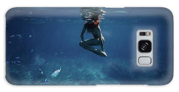 Mermaid Pose Galaxy Case