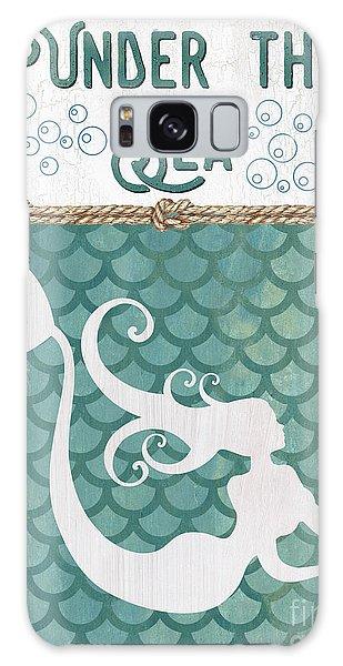 Mythology Galaxy Case - Mermaid Waves 2 by Debbie DeWitt