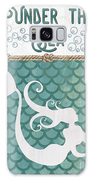 Fairy Galaxy S8 Case - Mermaid Waves 2 by Debbie DeWitt